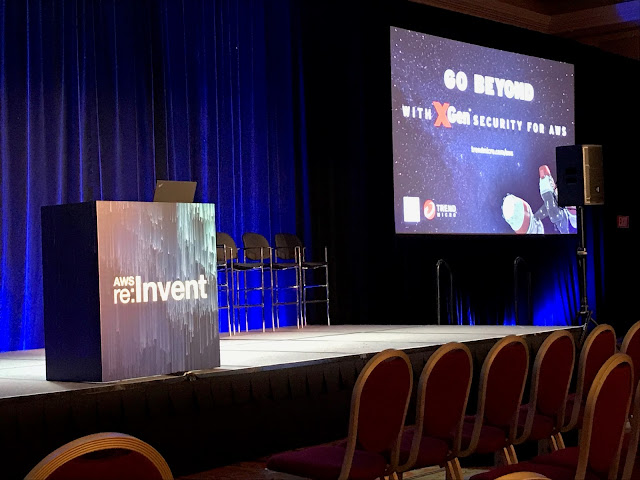 Shawn Woodward at AWS reInvent 2017