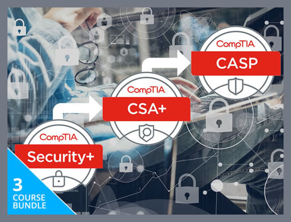 2018 CompTIA Security Certification Bundle discount - Lifetime Access