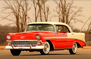1956 Chevrolet Bel Air 4-Door Front Left