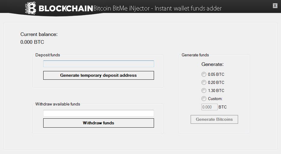 Blockchain Bitcoin BitMe iNjector: Blockchain Bitcoin BitMe