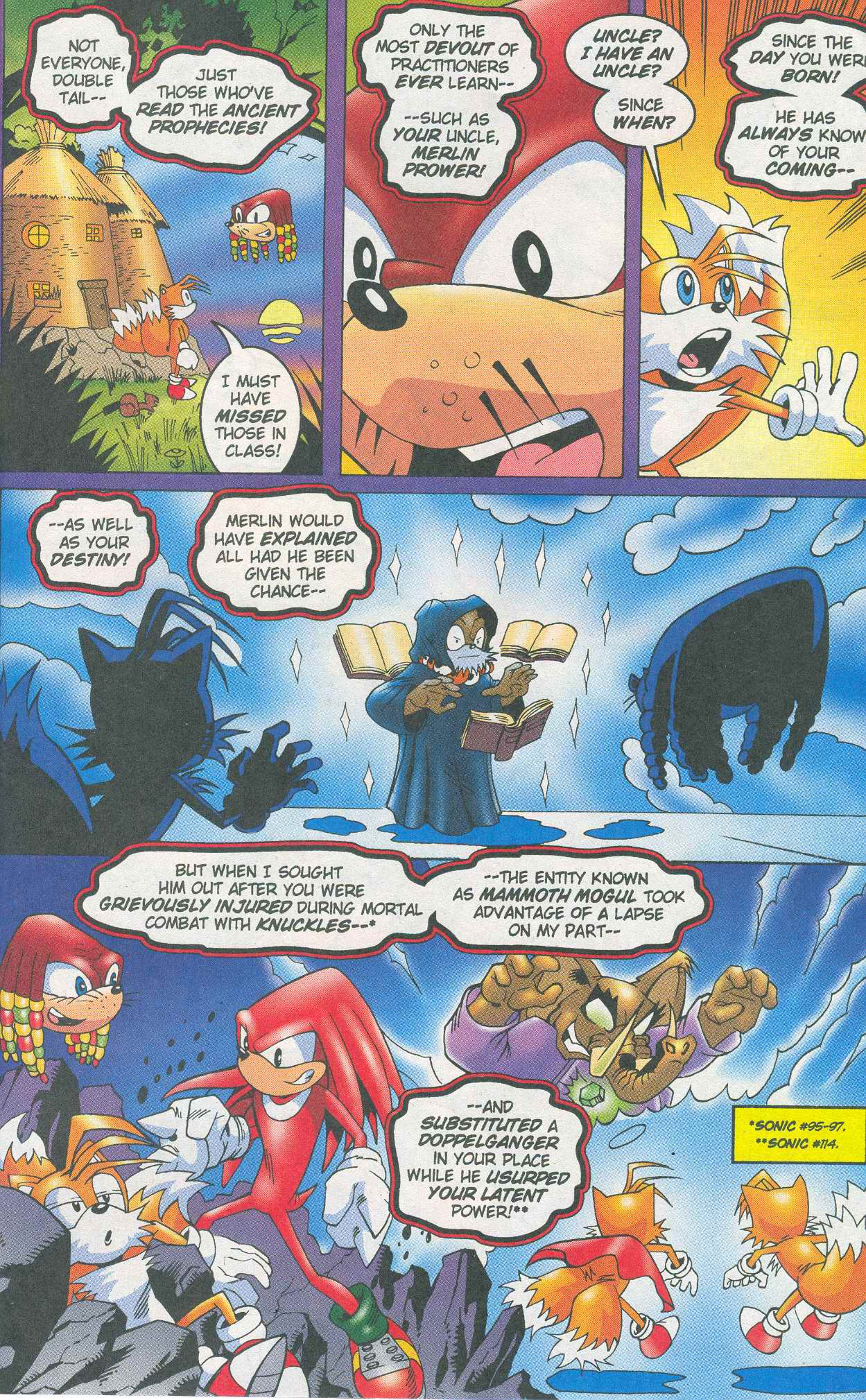 Read online Sonic The Hedgehog comic -  Issue #148 - 23