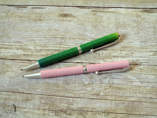 Create colorful, one of a kind pens with Sculpey clay and love.
