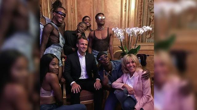 fete-de-la-musique-2018-macron-kindy-smile-gay-scandale-elysee