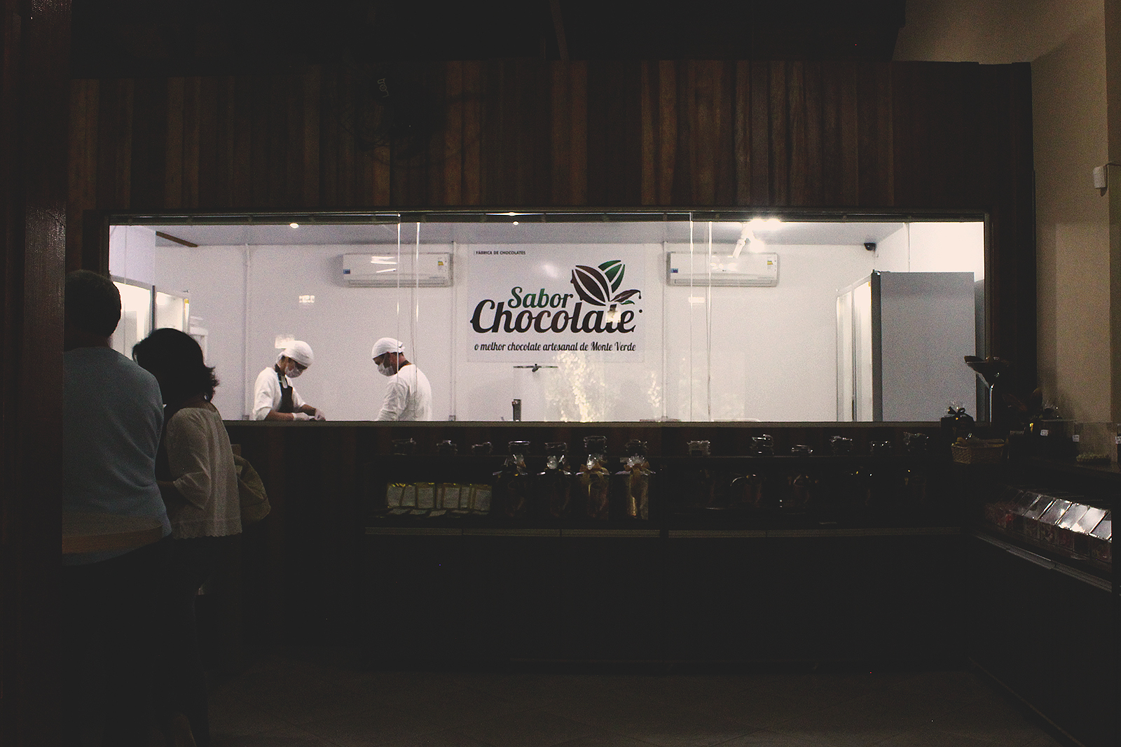 vista fábrica chocolate