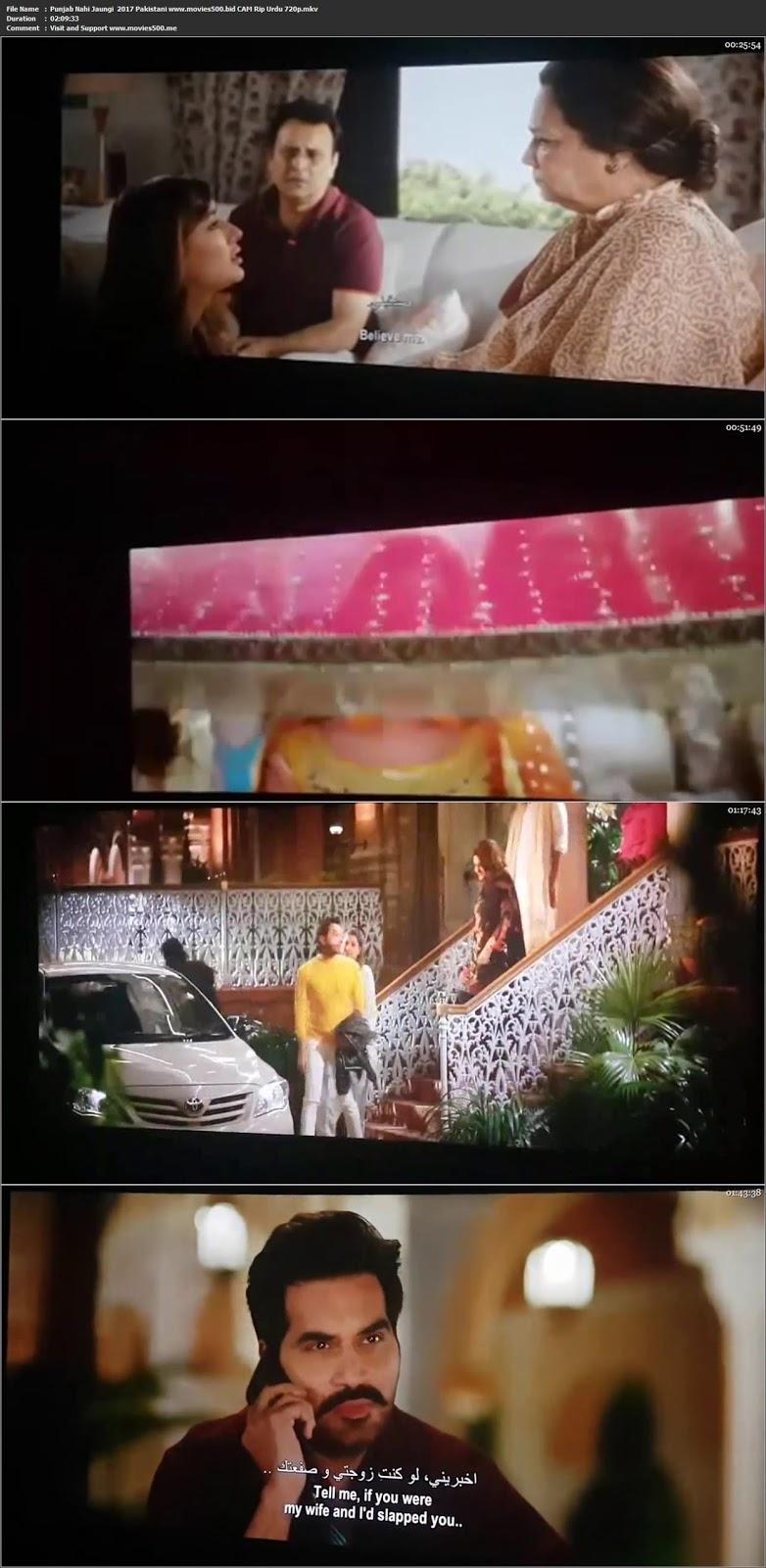 Punjab Nahi Jaungi 2017 Pakistani Full Urdu Movie pDVDRip 720p at movies500.info