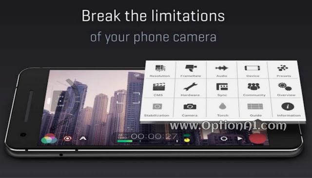 FilMiC Pro Free Download تنزيل تطبيق Filmic Pro للاندرويد
