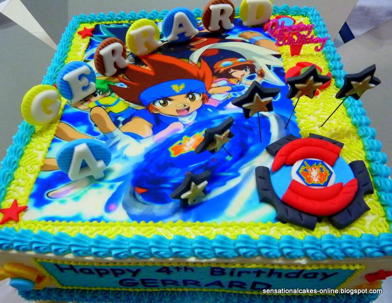 Cakes2share Singapore Beyblade Fusion Masters Galaxy