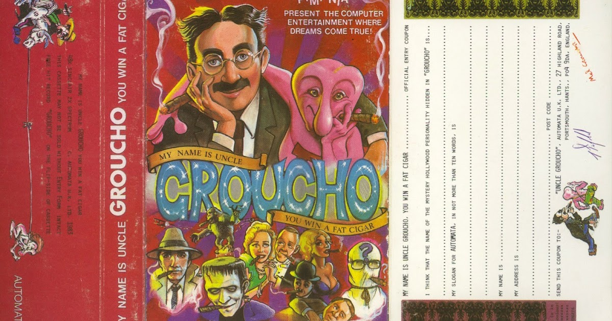 uncle groucho zx spectrum