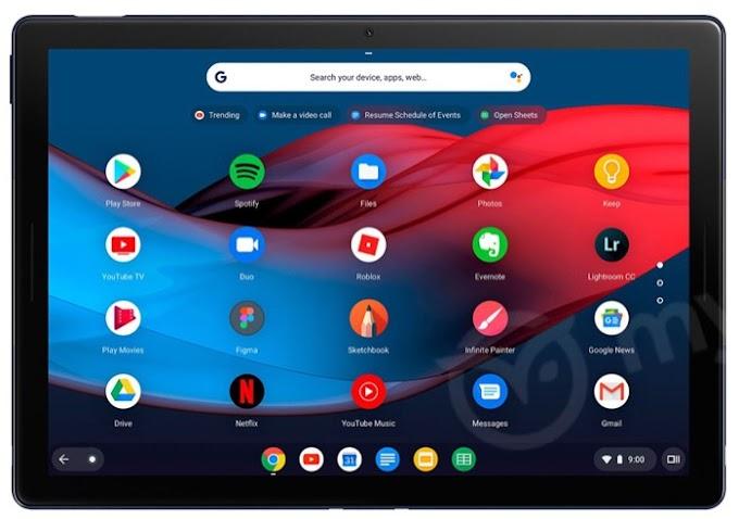 El tablet convertible de Google aparece antes de lo esperado