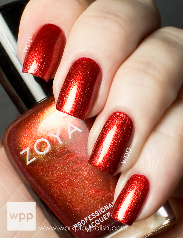Zoya Channing from the Satins Collection