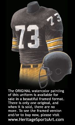 Pittsburgh Steelers 1978 uniform