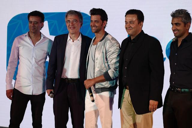 Bollywood megastar Hrithik Roshan becomes brand ambassador of the leading global meet-up app happn