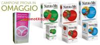 Logo Campioni omaggio Natura Mix e Gyno-Canesten Inthima