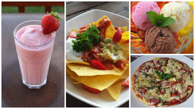 Kuliner Indonesia - Bali Strawberry Farm & Restaurant