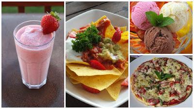 Kuliner Indonesia - Bali Strawberry Farm & Restaurant