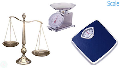 scale, weighing scale