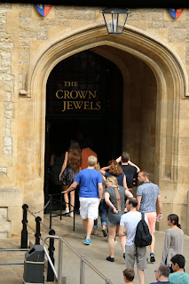 Entrance to the Jewel House  at the Tower of London