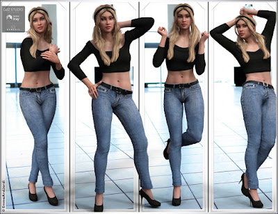 Femenina Mix and Match Poses for Genesis 3 Female