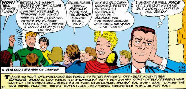 The Peerless Power of Comics!: Spider-Man Meets Dr  Doom!