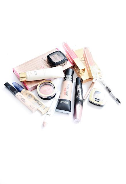 summer drugstore makeup, drugstore makeup favourites, top drugstore