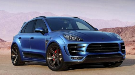 2017 Porsche Macan Turbo S Future