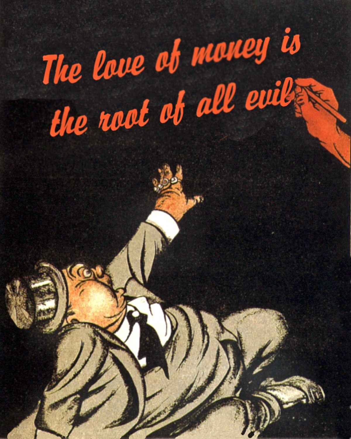 Is money the root of all evil?