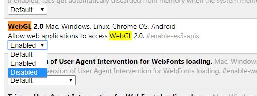 WebGL Haunting Your Computer? Here's a possible Dirt Farmer Fix