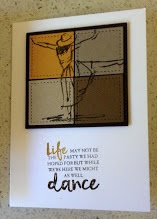 Life is about the dance zena kennedy independent stampin up demonstrator
