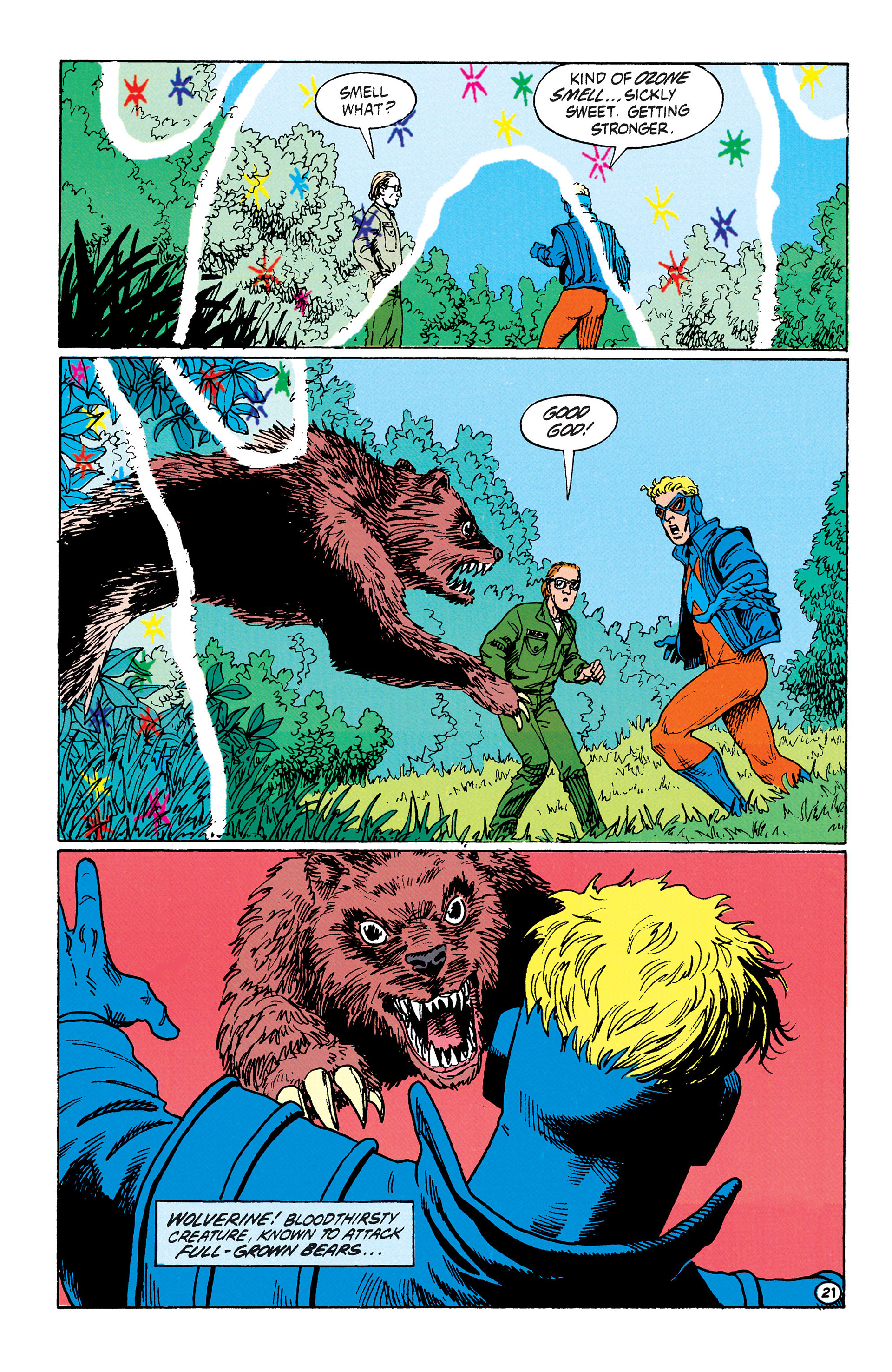 Read online Animal Man (1988) comic -  Issue #33 - 22