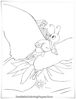 Download Barbie Fairytopia Coloring Pages For Girls