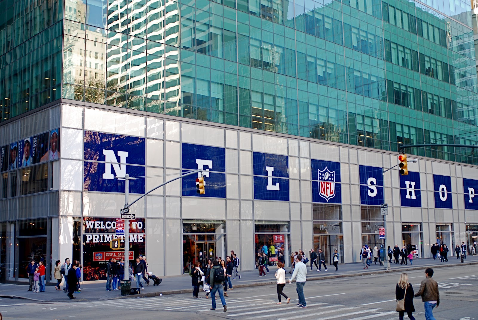 NFL Opens Its First-Ever NYC Pop-Up Store. The NFL recently opened a pop-up  store in New York City to celebrate the launch of its new apparel  partnerships ... efe4fca1a