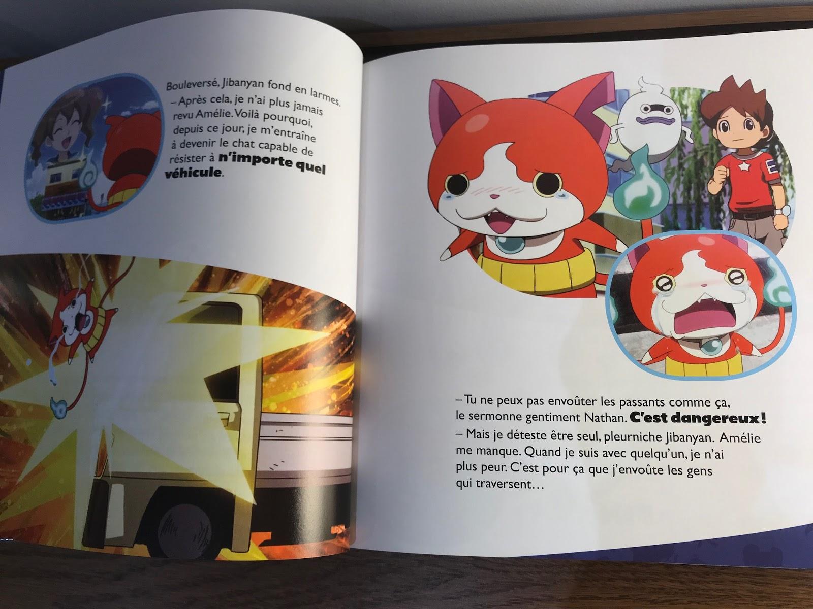 livre Yo-kai Watch
