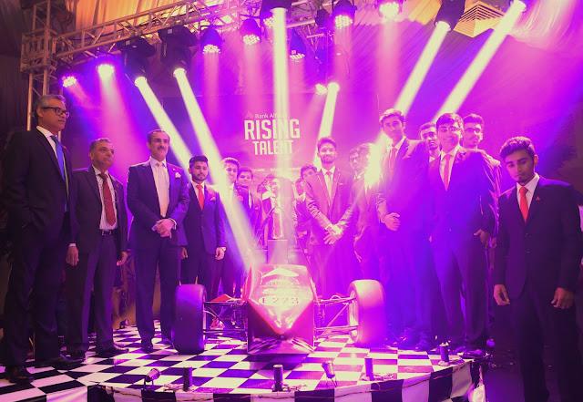 Bank Alfalah sponsors Pakistan's First Formula Electric Car