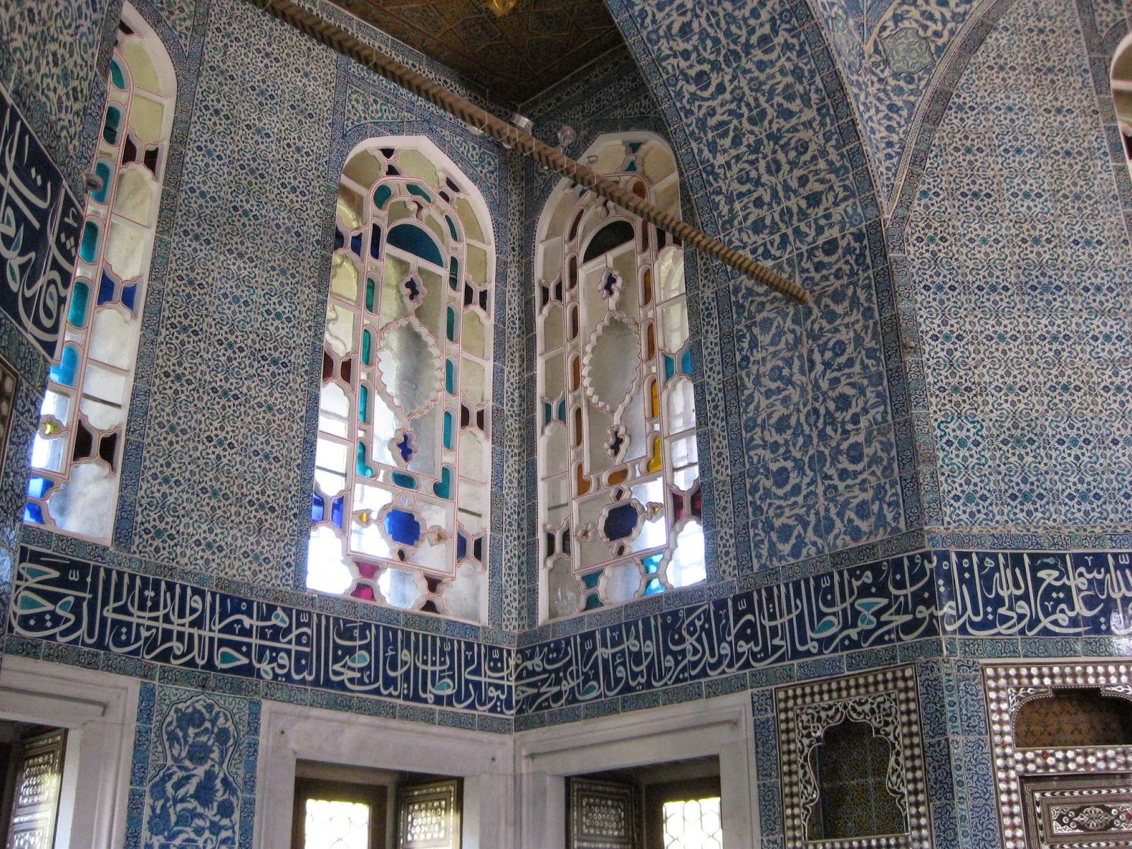 Istanbul - One of the many chambers in Topkapi Palace