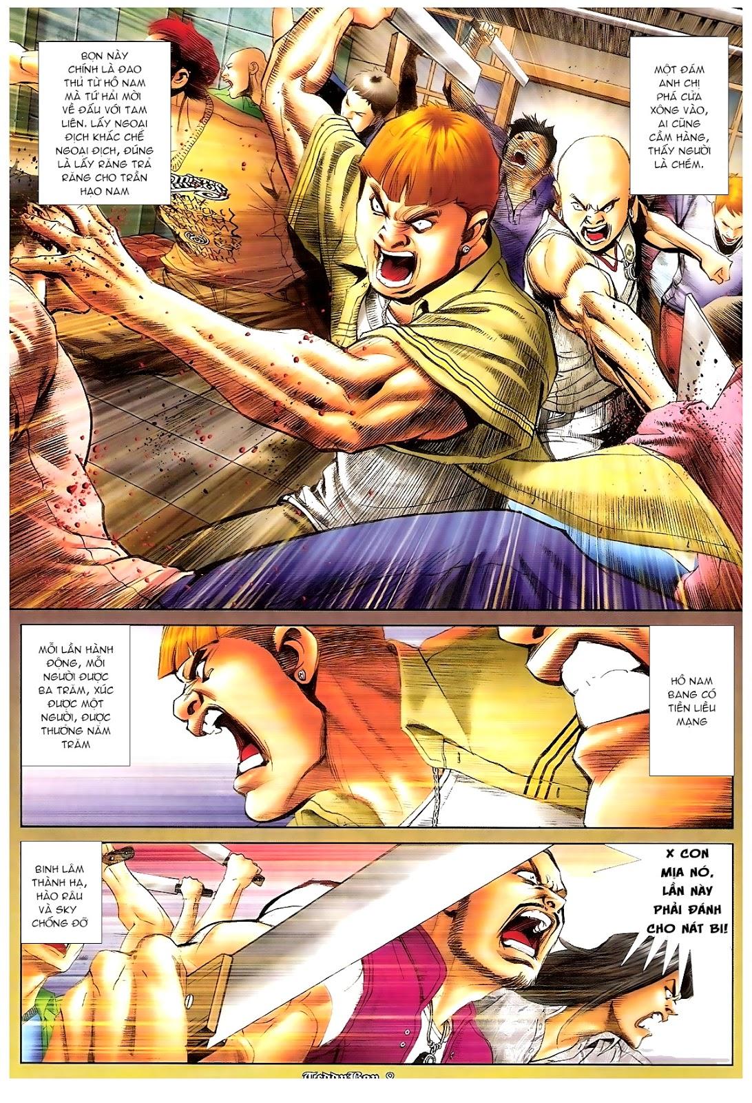 Người Trong Giang Hồ - Chapter 1190: Con của Chó Xám - Pic 7
