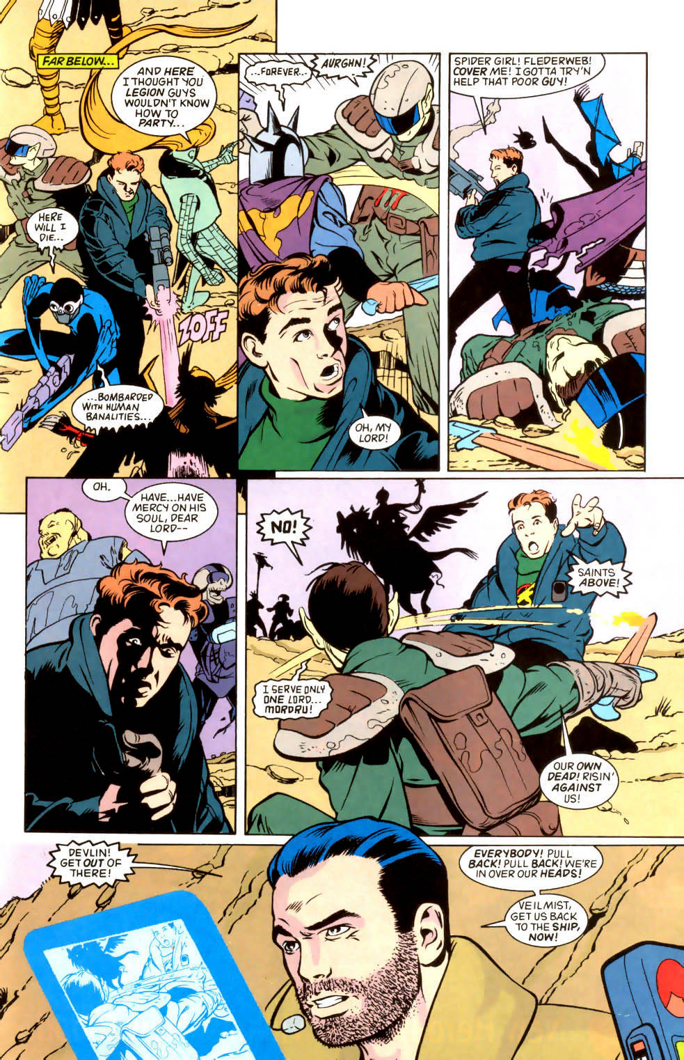 Legion of Super-Heroes (1989) 45 Page 7