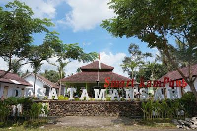 Desa wisata Tamansari, Kecamatan Licin, Banyuwangi.