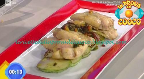 Cannoli di pollo al vino bianco ricetta Improta da Prova del Cuoco