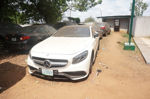 38 Exotic Cars, Other Goods Seized By Nigerian Customs (Photos)