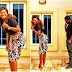 Adorable photos of Yvonne Jegede and husband checking his property