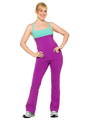 pearing it up  yoga outfits for pear shaped women