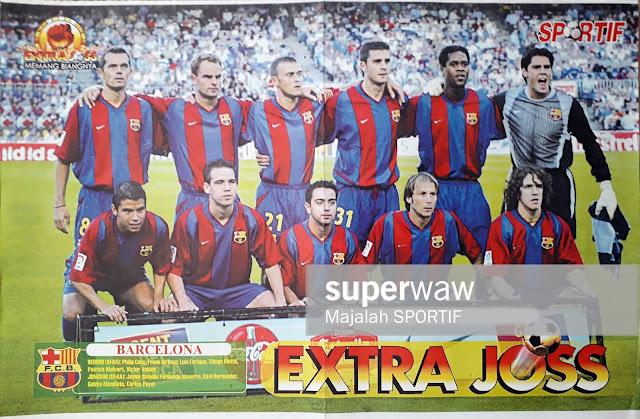 TEAM SQUAD BARCELONA FC 2002