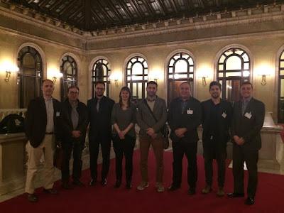 Potenciant l'ús dels #Drones a l'Agricultura, trobada al Parlament de Catalunya amb la Conselleria