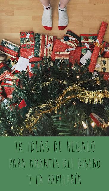 18 ideas de regalo para amantes del diseño y la papelería