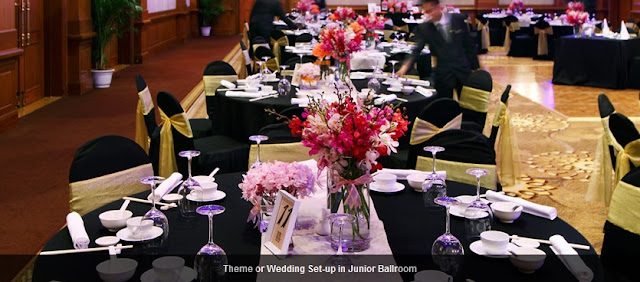 for smaller banquet reception