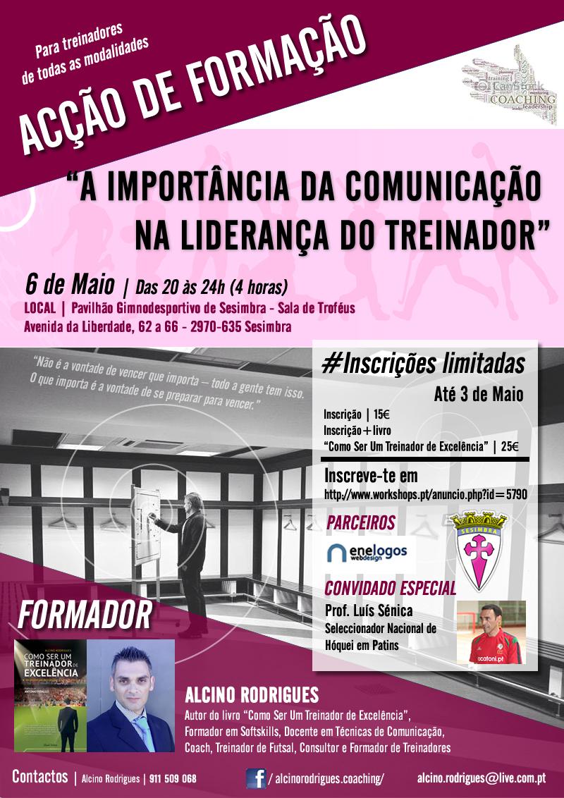 """Workshop """"A Importância da Comunicação na Liderança do Treinador"""" – Sesimbra"""