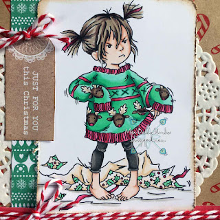 Lili of the Valley Stroppy Girl Christmas Jumper