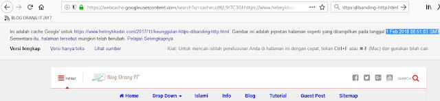 Mengenal pentingnya google cached dalam seo2
