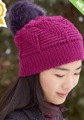 http://www.yarnspirations.com/pattern/crochet/twist-n-shout-slouchy-hat