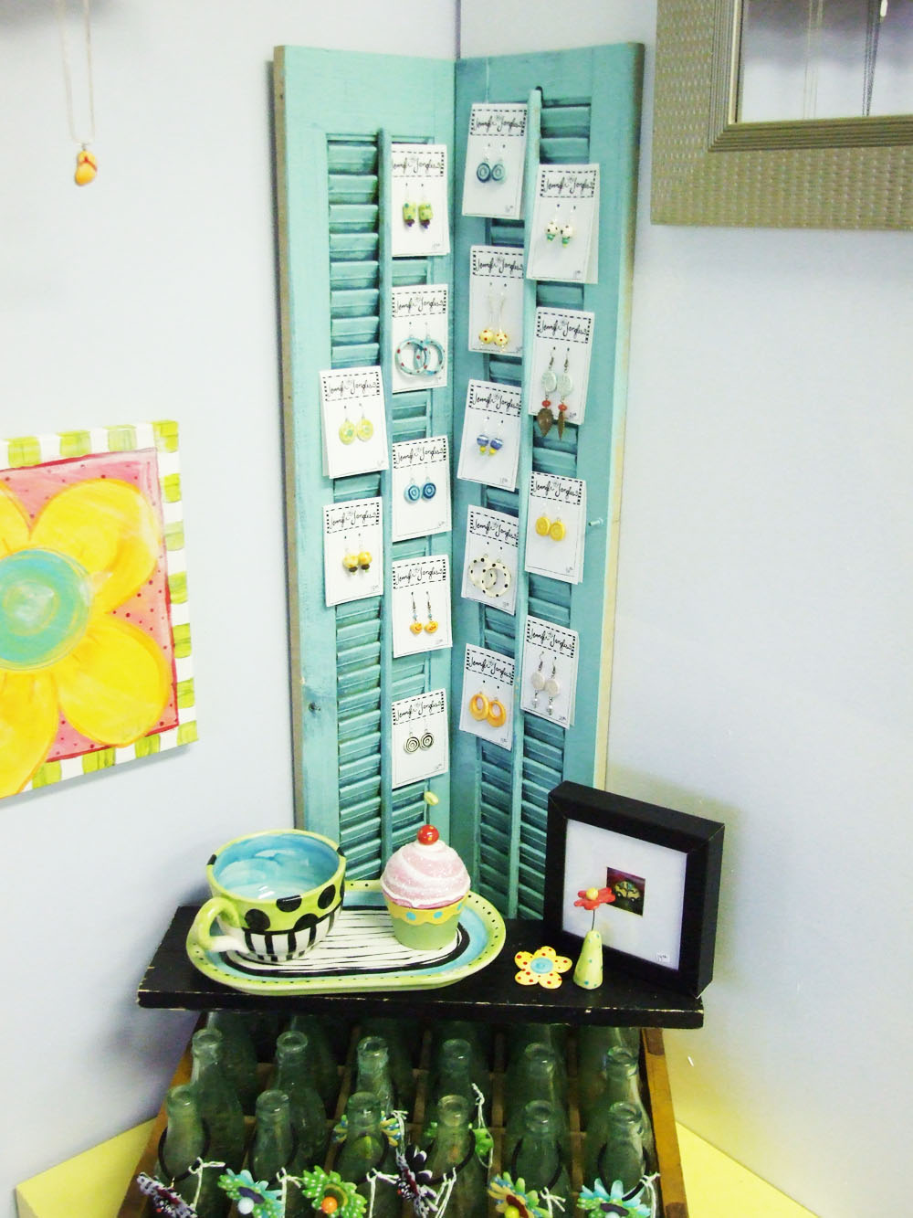 Art Bead Scene Blog: Earring Display Idea